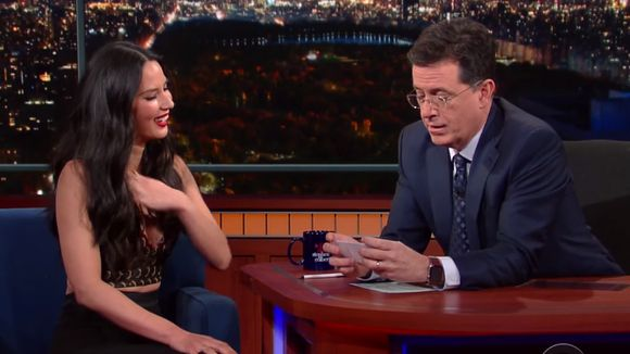 Colbert texted Olivia Munn's mom about fake-engagement...: Colbert texted Olivia Munn's mom about fake-engagement #OliviaMunn… #OliviaMunn