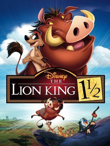 The Lion King 1-1/2 (2004) (Disney)