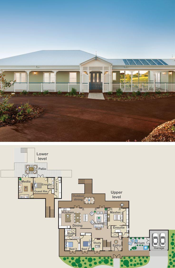 The 50 best images about queenslander homes on pinterest for Queenslander floor plans