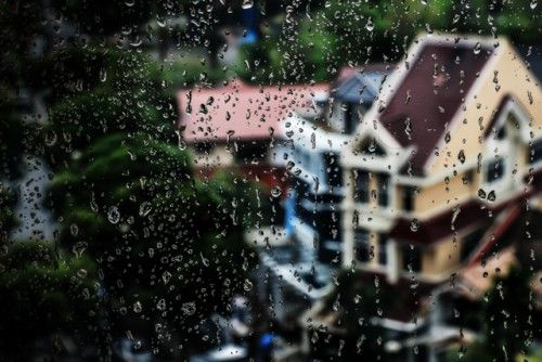 Rain on my window by Prabaljit Sarkar