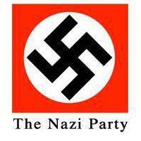 Hitler chose this symbol as his Political Symbol. Previously, it had been used as a symbol of peace & luck by Native Americans, & in Asia,