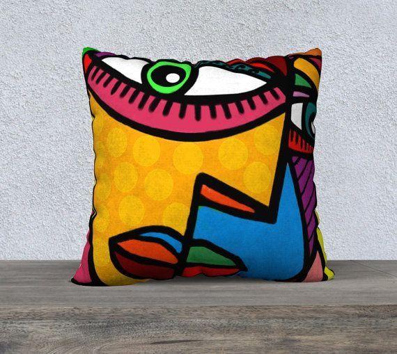 Cushion Cover Eye Obsession