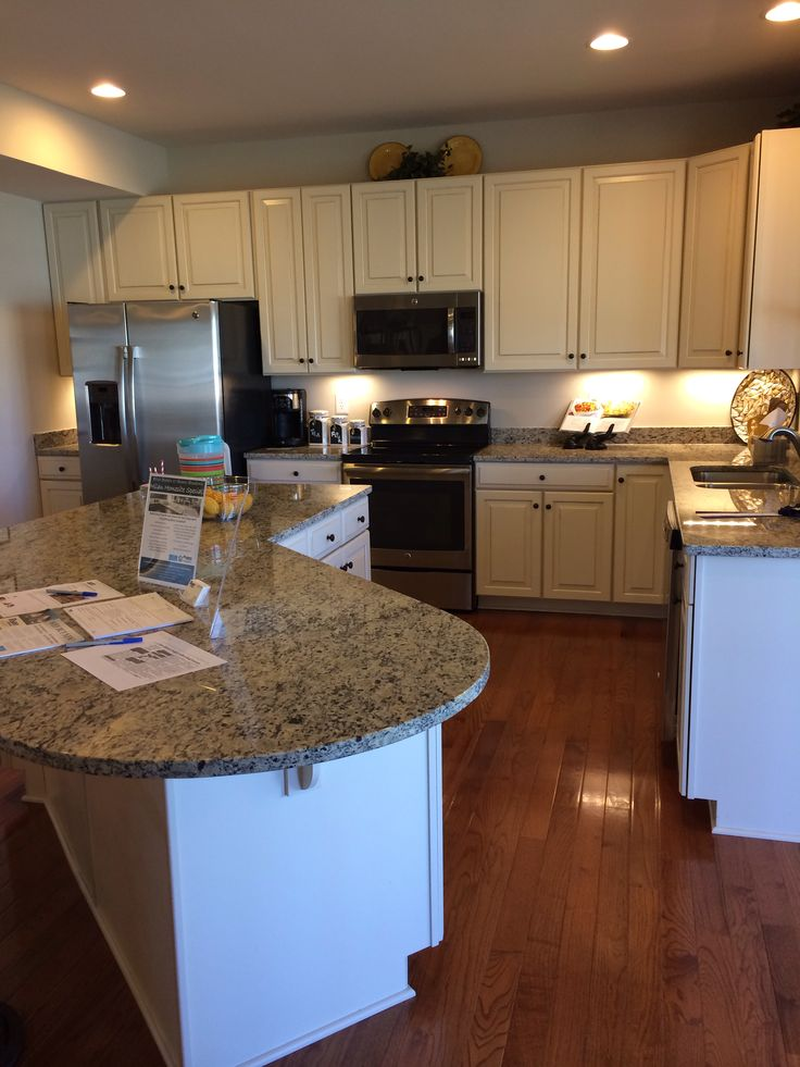 Model kitchen rome ryan homes kitchen pinterest for Model home kitchens