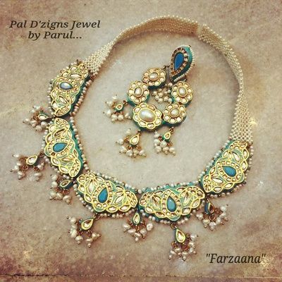 meenakari, turquoise , tukdi, 5 pankha necklace, gold, kundan polki , bridal necklace