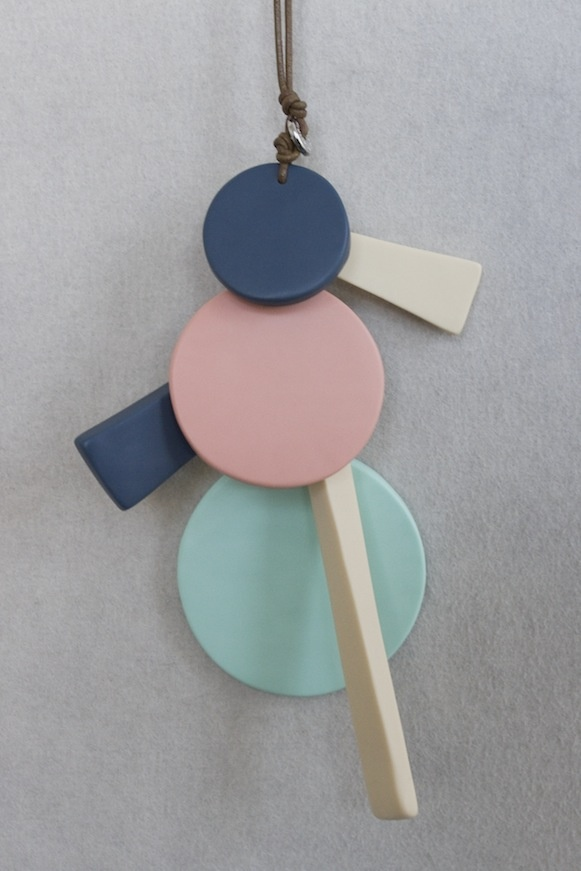 Dinosaur Designs Sorbet Collection 2012 - Circling The Square Pendant