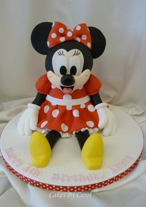 131 best images about Mickey & Minnie Cakes on Pinterest ...