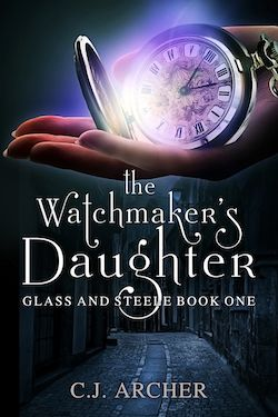 The first book in the historical fantasy series GLASS AND STEELE.