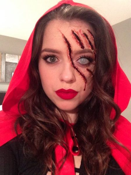 maquillage halloween pour fille de 11 ans