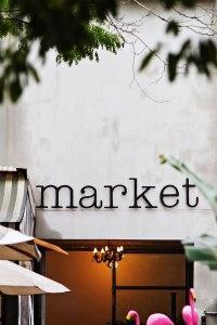 Market Restaurant. Eat. Coffee.