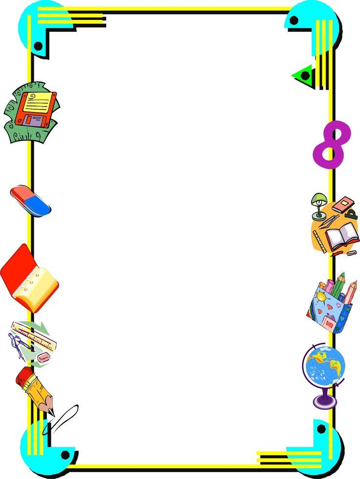 M s de 25 ideas incre bles sobre bordes de caratulas en for Adornos para paginas