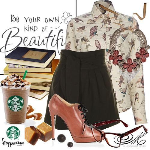 Book-worm @ Starbucks   Women's Outfit   ASOS Fashion Finder