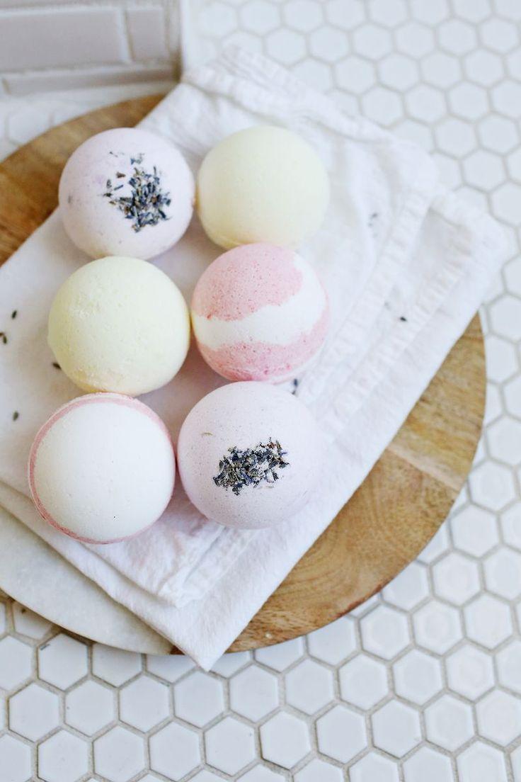 homemade bath bombs | how to make bath fizzies