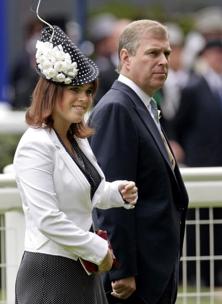 Princess Eugenie with her father Prince Andrew