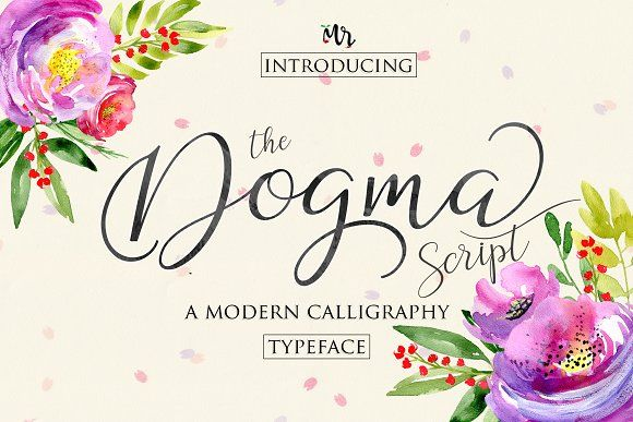 Dogma Script  by MrLetters on @creativemarket