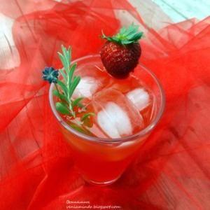 Клубнично-лавандовый лимонад, пошаговый рецепт с фото