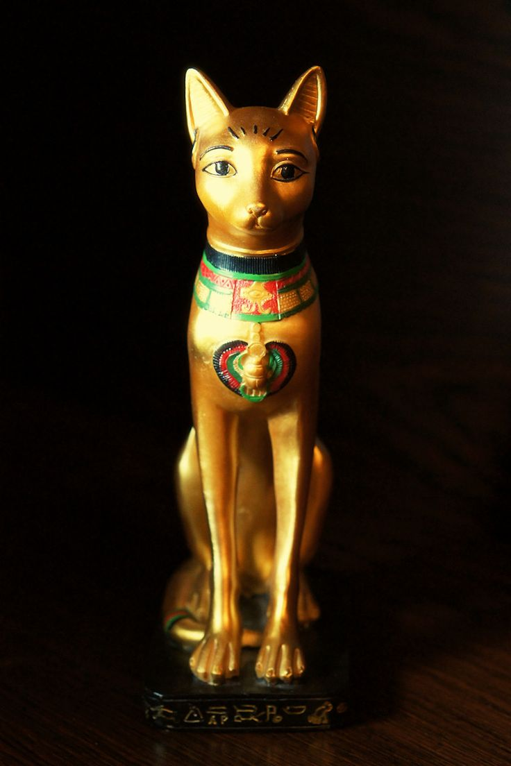 Egyptian Cat Statue | cats cats many forms | Pinterest