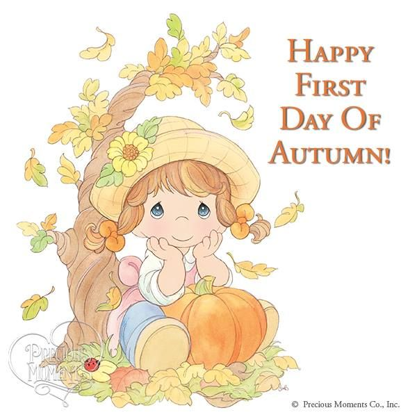 precious moments coloring pages autumn - photo#38