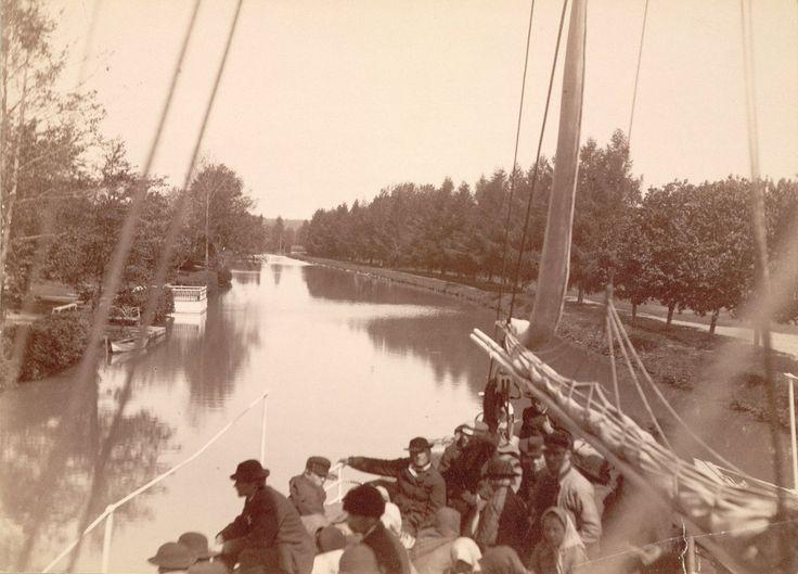 Trollhätte Canal, Sweden. Photograph date: ca. 1865-ca. 1895