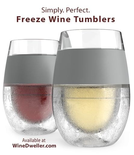 Freeze Cooling Wine Glasses - 10% off when you purchase more than 1 Set. Grab 'em now!