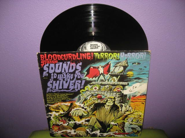 SPRING SALE Vinyl Record Album Sounds to Make You Shiver Haunted House Music LP 1974 Halloween Horror Sound Effects by JustCoolRecords on Etsy https://www.etsy.com/ca/listing/163632045/spring-sale-vinyl-record-album-sounds-to
