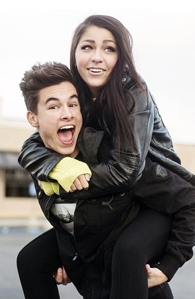 Kian Lawley and Andrea Russet= I'm gonna cry I hope that they get back together or at least stay friends :(