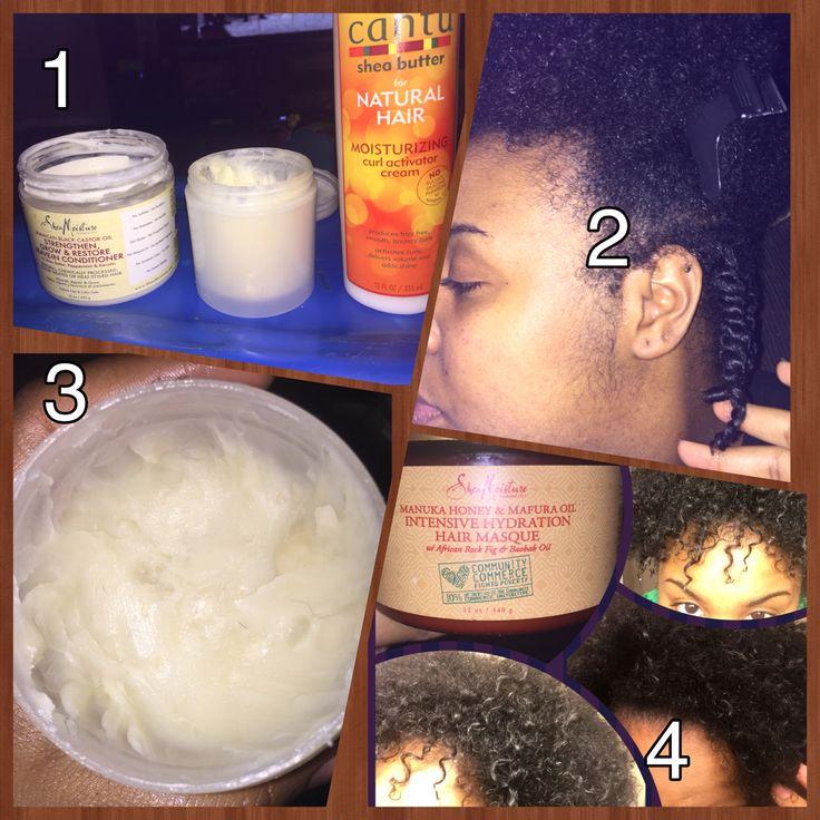 (1)sheamoisture Jamaican black castor oil strengthen, grow