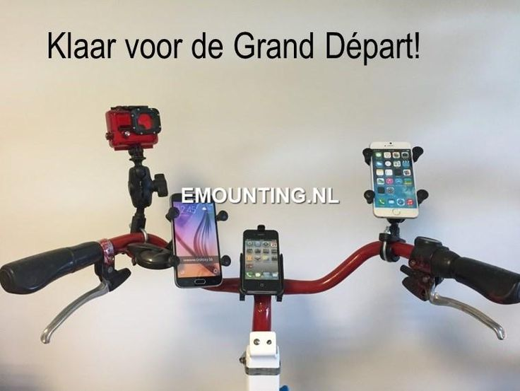 Ready For The Grand Départ of the #TDF2015 in Utrecht! #rammount keeps you rolling.