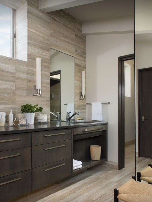 11 best images about washroom on pinterest bathrooms decor wood veneer and hardware - Washroom designs ...