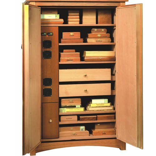 Amazon.com: Vigilant Climatech Electronic Cigar Cabinet Humidor   2600  Cigars   Humidification: