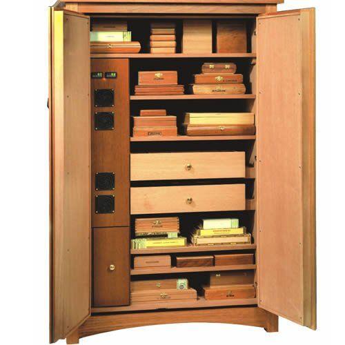Amazon.com: Vigilant Climatech Electronic Cigar Cabinet Humidor - 2600  Cigars - Humidification:
