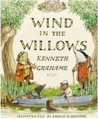 Behold the Stars: The Wind in the Willows, by Kenneth Grahame.