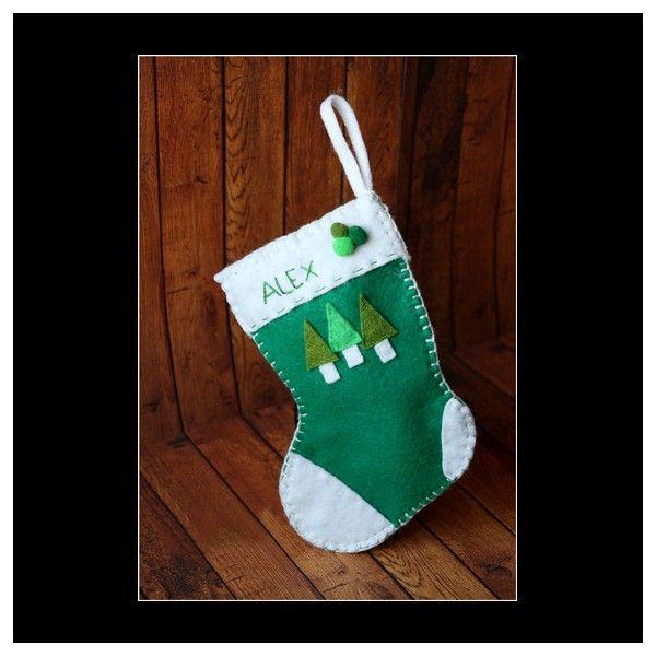 Ciorap pentru cadouri de Craciunpersonalizabil.Disponibil si in alte culori.Dimensiune: 18.5 cm inaltime.Pret/buc
