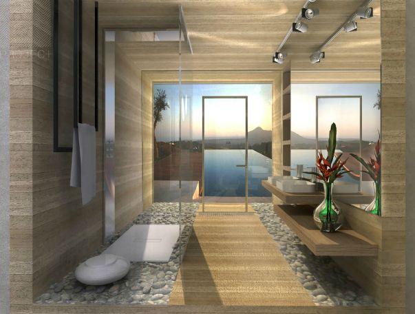 Фото дизайнерских проектов ванных комнат