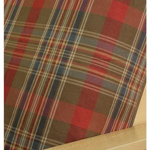Barnstable Plaid futon cover is classically styled and versatile woven plaid pattern in a wonderful color palette including brownish olive, merlot and pale blue.