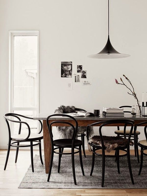 fine dining | thonet chairs