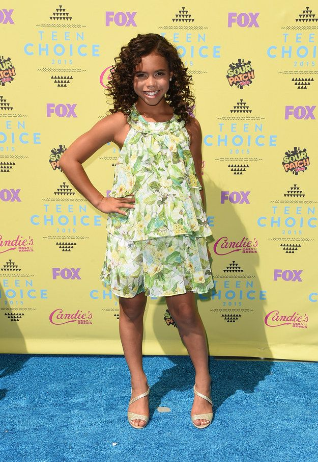 Asia Monet Ray | All The Looks From The 2015 Teen Choice Awards