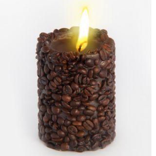 Эко свеча COFFEE с зернами и ароматом кофе, Chocolatte