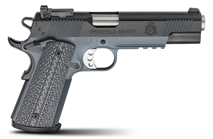 SPRINGFIELD TRP™ OPERATOR® TACTICAL GRAY W/ INTEGRAL ACCESSORY RAIL .45ACPl.