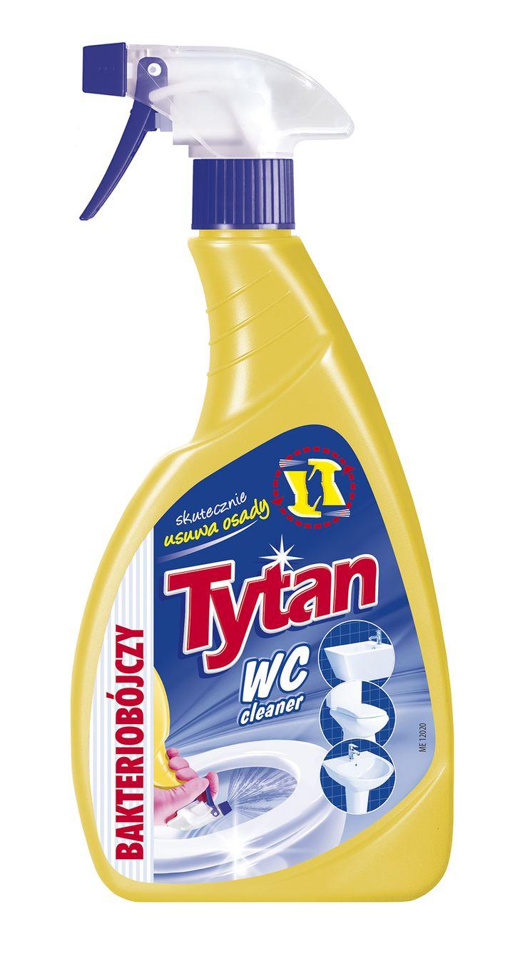 Płyn do mycia WC Tytan bakteriobójczy spray 500g