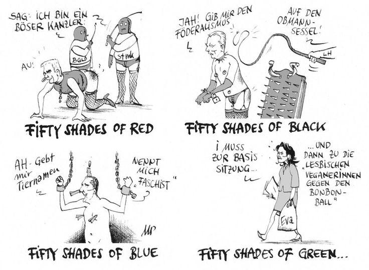 #FiftyShadesOfGrey als österreichische Politkarikatur.  #Pammesberger. Mehr auf http://kurier.at/meinung/pammesberger/709.501/slideshow#