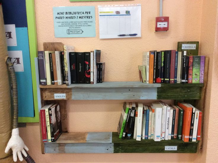 Mini biblioteca per a pares i mares.