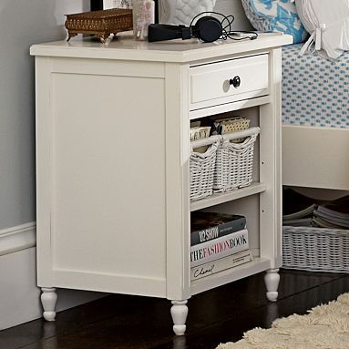 Genevieve Bedside Table #pbteen