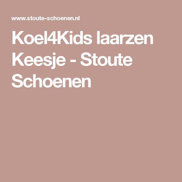 Koel4Kids laarzen Keesje - Stoute Schoenen