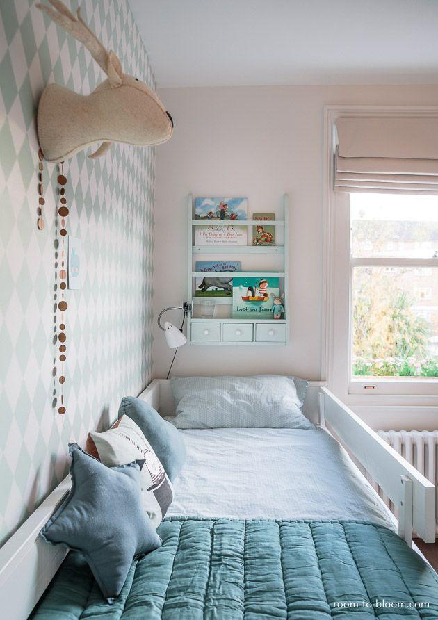 Childrens Interior Design Scandinavian Mint And Blue Girls Room Florence 3