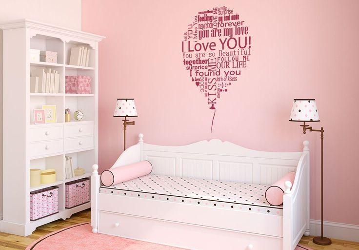 Balloon of love - Wall sticker