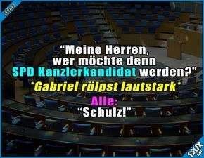So könnte es abgelaufen sein :P Lustige Sprüche #Humor #jux #1jux #Sprüche #lustigeSprüche #Kanzlerkandidat #MartinSchulz #SPD #Schulz #Kanzler #Bundeskanzler #Deutschland #nurSpaß