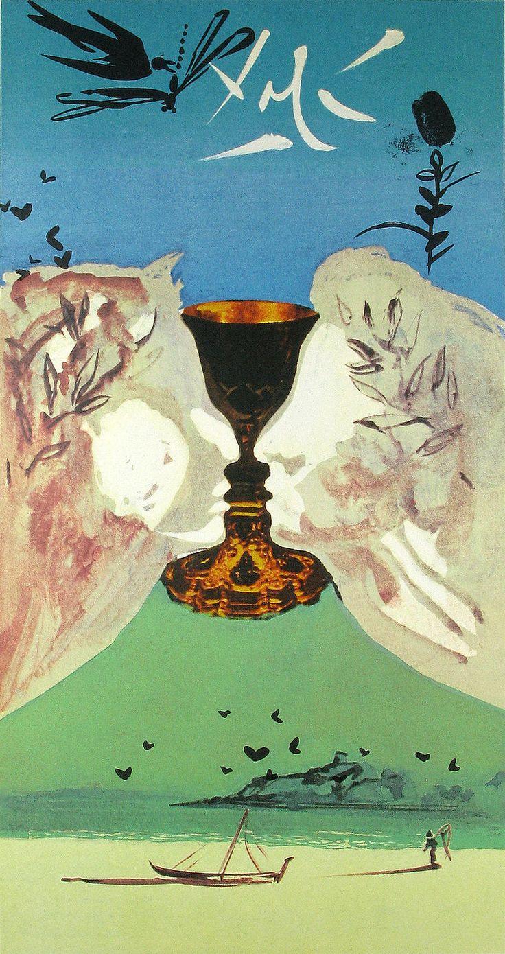 Ace of Cups Salvador Dalí