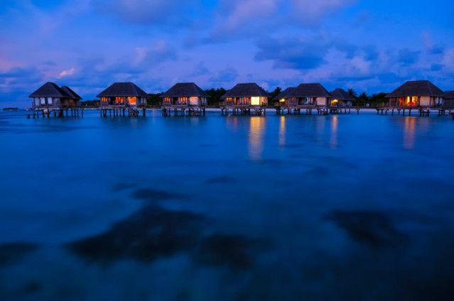 Malediven Wasserbungalow