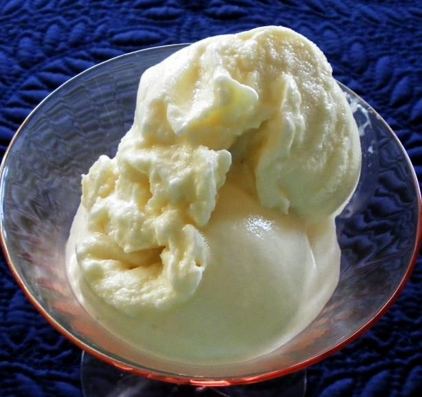 Country Vanilla Ice Cream from Food.com:   This home-made ice cream is great! I love this recipe and every time I make it I always say there is no reason to ever buy it from a store! There's nothing like home-made!