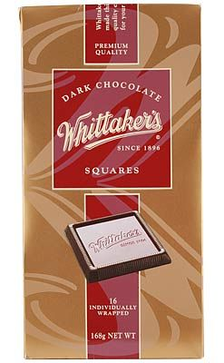 Dark Chocolate Squares – Whittaker's - 168g  | Shop New Zealand
